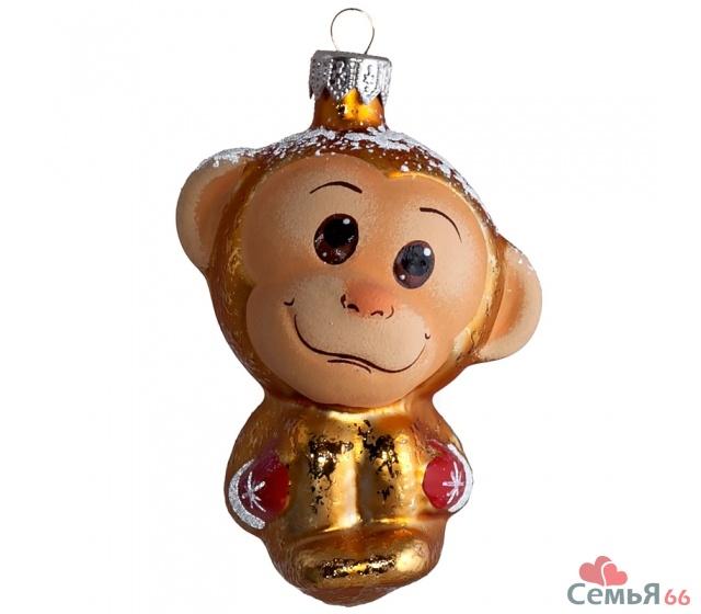 обезьянка новогодняя игрушка выкройка